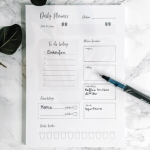 Concre Daily Planner